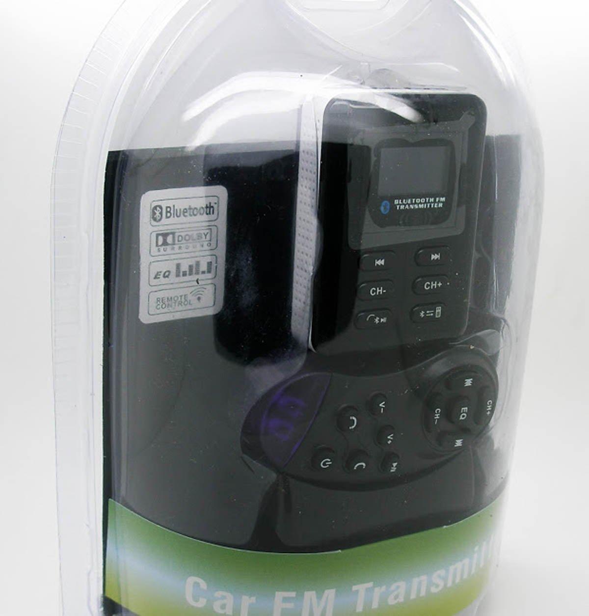 Reproductor Transmisor Lector MP3 con Manos Libres Bluetooth FM y mando adaptable al volante del coche 2681 - Electrónica Revisión del cliente y más noticias