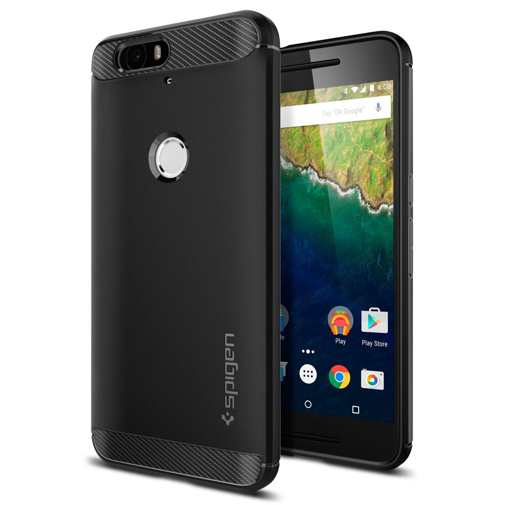 Nexus 6P Rugged Armor Ultimate protection Spigen