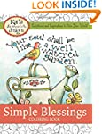 Simple Blessings: Coloring Designs to...