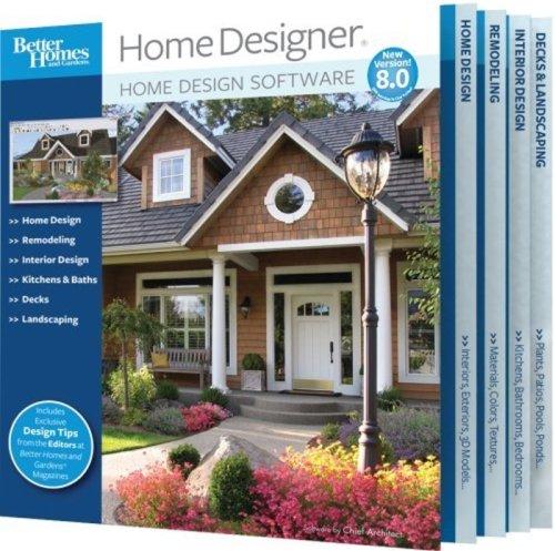 Better Homes and Gardens Home Designer 8.0 (PC)