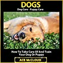 Dogs: Dog Care, Puppy Care, How to Take Care of and Train Your Dog or Puppy Audiobook by Ace McCloud Narrated by Joshua Mackey