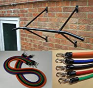 Buy Wall Mounted pull up chinning bar WITH Resistance bands On sale-image
