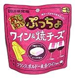 UHA 味覚糖 あじわい ぷっちょ ワイン&焼チーズ 6袋