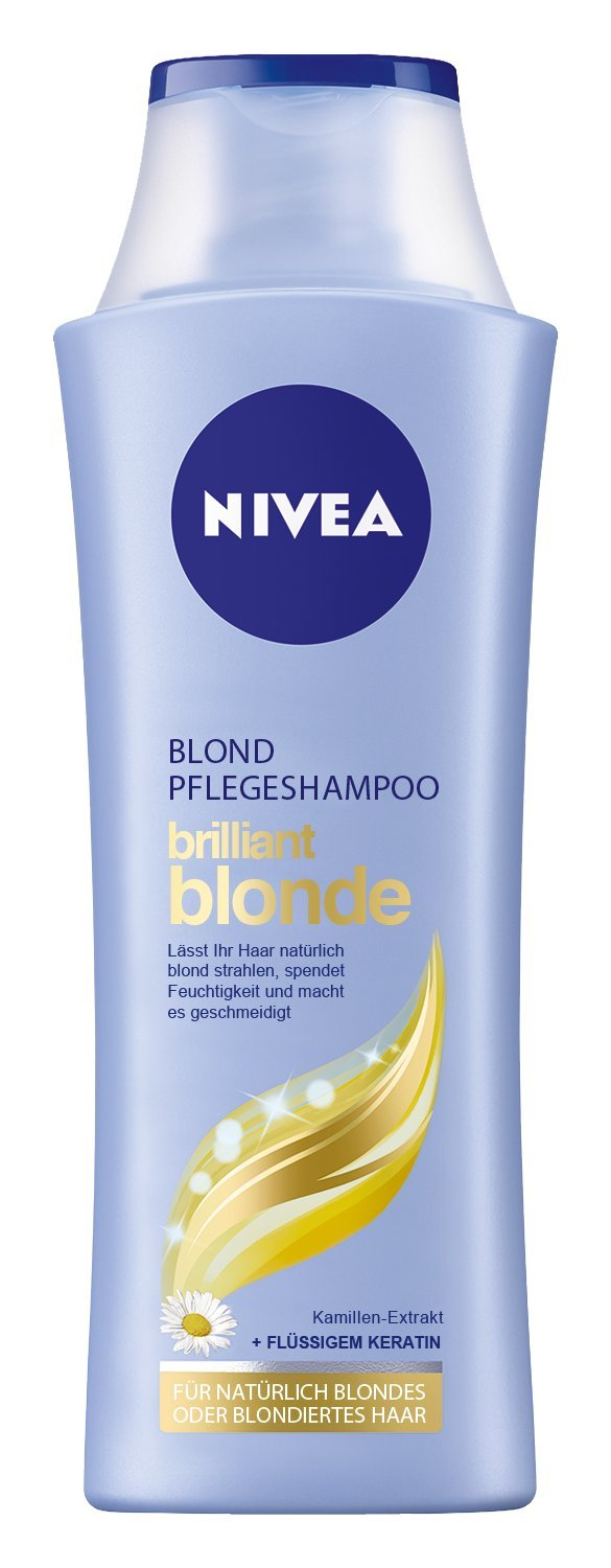 Nivea Blond Pflegeshampoo Brilliant Blonde,