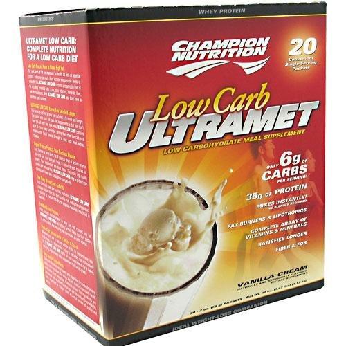 Ultramet Low Carb Vanilla 20 Packets
