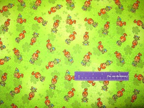 "42"" Wide Flintstones Pebbles Flannel Fabric By The Half Yard front-32547"