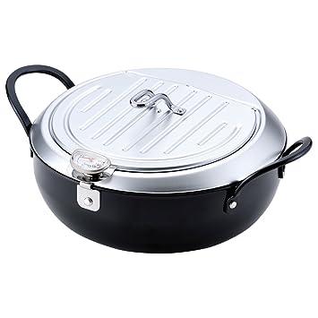 和平フレイズ IH対応 鉄製蓋付天ぷら鍋 24cm TM-9090