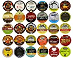 Coffee, Tea, Cider, Cappuccino and Hot Chocolate Single Serve Cups For Keurig K Cup Brewers Variety Pack Sampler, 30 Count made by Custom Variety Pack