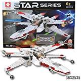 Star Wars X-wing Space Fighter Model Lego Compatible