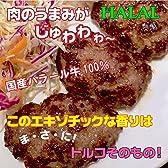 ハラール牛肉100%のキョフテ(トルコのハンバーグ) 5個入り HALAL