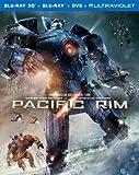 Pacific Rim (Blu-ray 3D + Blu-ray + DVD + UltraViolet Combo Pack)