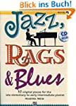 JAZZ RAGS & BLUES 1 (Buch & CD): 10 o...