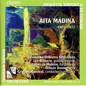 Concertino Vasca para Arpa y Orquesta de Cuerdas (Estreno): I. Alegera gaitean