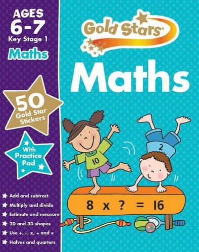 Maths kS1 6-7 (Gold Stars Ks1 Workbooks)