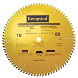 Kempston 99570 10-Inch by 80 Tooth Professional Thin Kerf Laminate Floor/Melamine Blade with 5/8-Inch Arbor