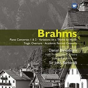 Brahms: Piano Concertos Nos. 1 & 2 / Haydn Variations / Tragic Overture / Academic Festival Overture ~ Barenboim