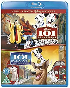 101 Dalmatians / 101 Dalmatians II: Patch's London Adventure [Blu-ray] [1961] [Region Free]