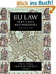 EU Law: Text, Cases, and Materials (T...