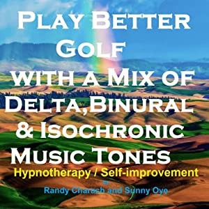 Play Better Golf - with a Mix of Delta Binaural Isochronic Tones Speech