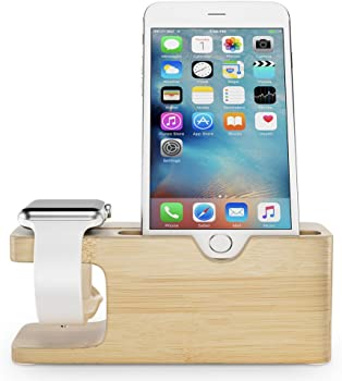 Maxboost Apple Watch Series 2 Wood Charging Stand
