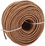 Commonwealth Basket Fibre Rush 6/32-Inch 2-Pound Coil, Kraft (approximately 210-Feet)