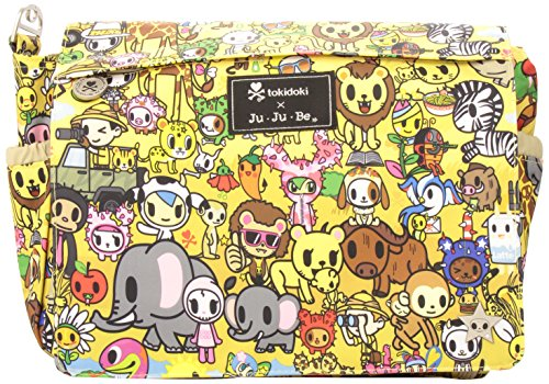 Ju-Ju-Be Tokidoki Collection Better Be Messenger Diaper Bag, Animalini