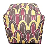 Swanky Swell Arches Pouf Pillow