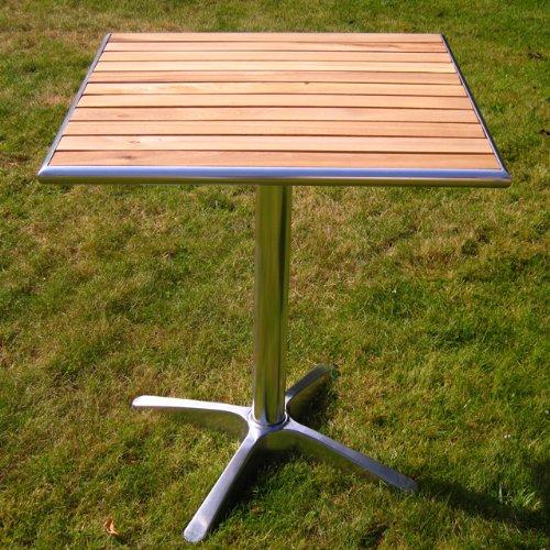 Gartentisch untergestell holz for Bistrotisch holz