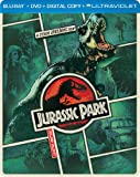 Jurassic Park (Steelbook) (Blu-ray + DVD + DIGITAL with UltraViolet)