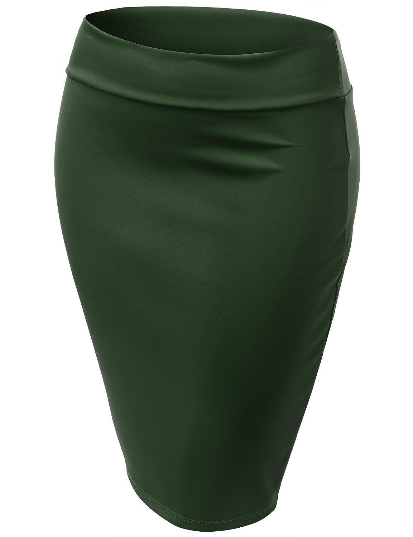 Amazon.co.jp: (ジェイ トムソン プラス)J.TOMSON PLUS 大きいサイズ  ベーシック ペンシルスカート: 服&ファッション小物通販