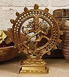 Unravel India Natraj brass sculpture