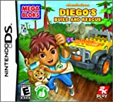 Mega Bloks Diegos Build and Rescue - Nintendo DS