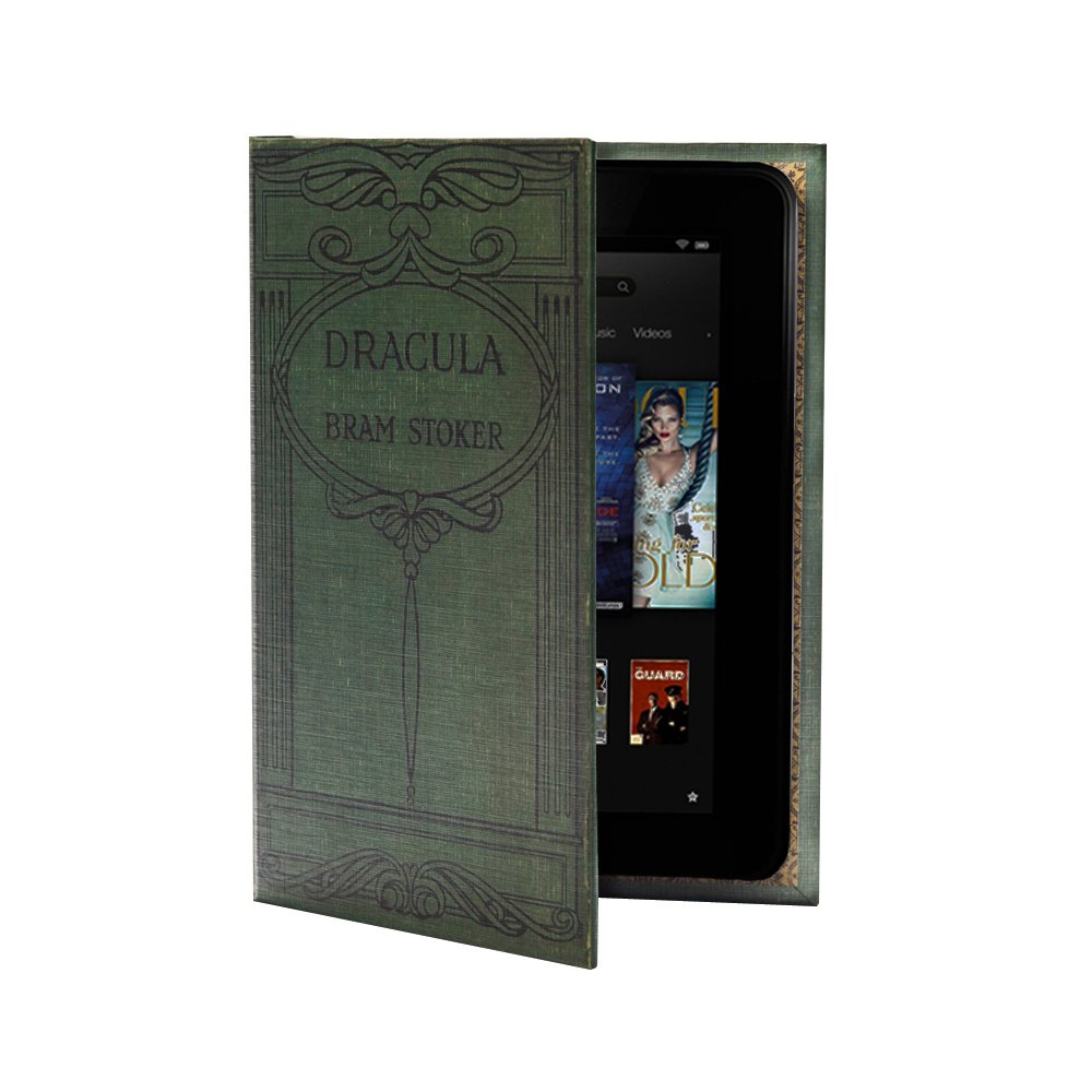 KleverCase Book Cover Case Range for NEW Kindle Fire HD 7  Tablet (only fits 2nd Generation, 2013 version)   Bram Stokers Draculareview and more information