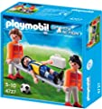 PLAYMOBIL 4727 - Sanitäter mit verletztem Fussballspieler