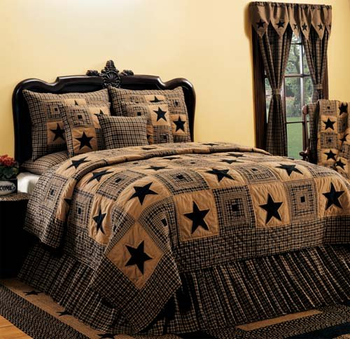 Black Vintage Bedding front-1059743