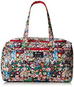 Ju-Ju-Be Superstar Travel Duffel Bag with Two Zippered Pockets, Fairytella by Ju-Ju-Be