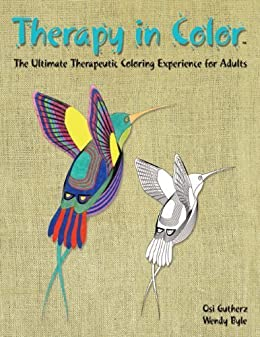 Therapy in Color - Adult Coloring Book