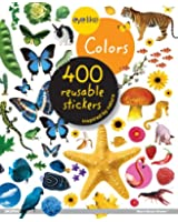 Eyelike Colors: 400 Reusable Stickers Inspired by Nature