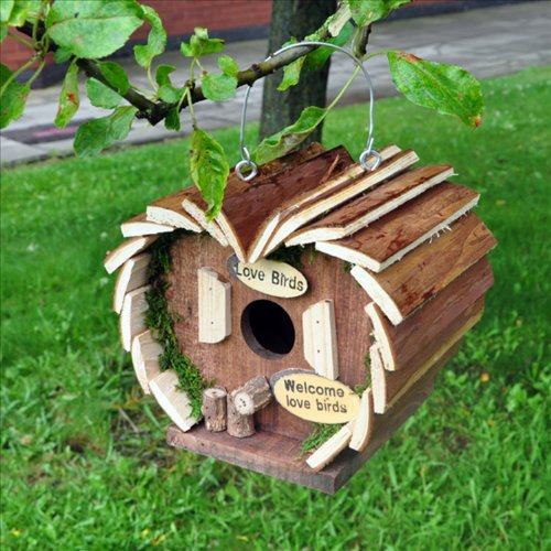 KINGFISHER WOOD WOODEN BIRD SQUIRREL BEE FEEDER FEEDING STATION HOTEL
