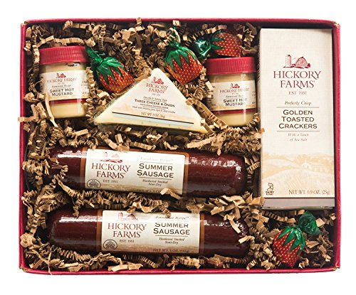 Hickory Farms Double Sausage and Cheese Sampler