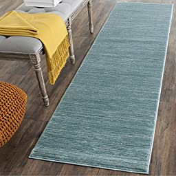 Safavieh Vision Collection VSN606B Seafoam Runner, 2 feet 2 inches by 8 feet (2\'2\