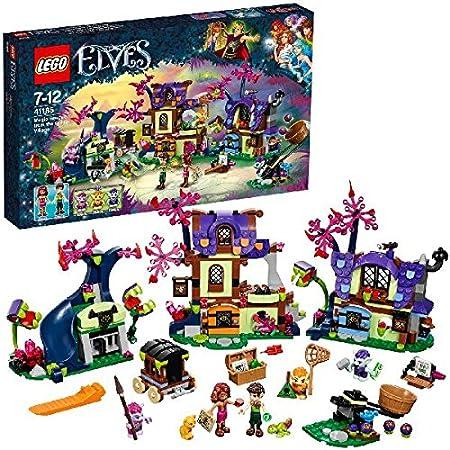 LEGO - 41185 - Elves -Jeu de Construction - Le sauvetage dans le village des Gobelins