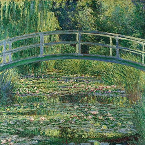 ambiente-servietten-lunch-party-33x33cm-monet-the-water-lily-pond