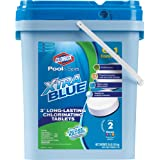 CLOROX Pool&Spa XtraBlue 3-Inch Long Lasting Chlorinating Tablets, 35-Pound Chlorine