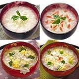 アマノフーズ フリーズドライ 雑炊 おかゆ 4種類16食セット