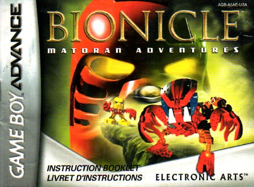Bionicle: Matoran Adventures