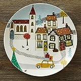 Jubilee お皿 プレート ジェシカスノーチャペル デザイナーズ コラボ 20cm 2枚セット jubileeplate02