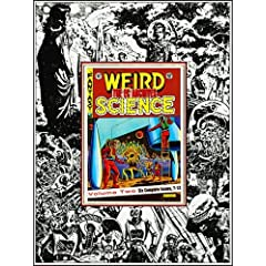Picture of EC ARCHIVES: Weird Science Vol 2 Deluxe (Leather Bound) cover