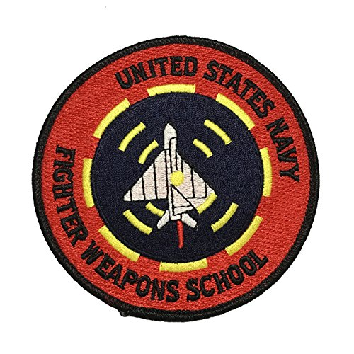 Top Gun Patch Fighter Navy Jackget School Suit Embroidered Sew Iron On Patch (Fancy Dress Boxing Gloves)
