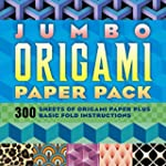 Jumbo Origami Paper Pack: 300 Sheets...